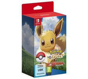 Pokemon Let's Go Eevee with Poke Ball Plus £74.99 @ Argos