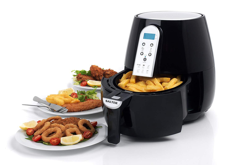 Salter EK2559 XL Digital Hot Air Fryer, 4.5 Litre showing £40 @ George (Free C&C)