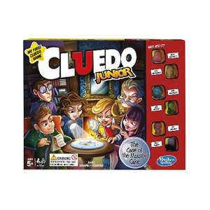 Hasbro Cluedo Junior Game for £9.99 Prime/£14.48 Non, Delivered @ Amazon UK