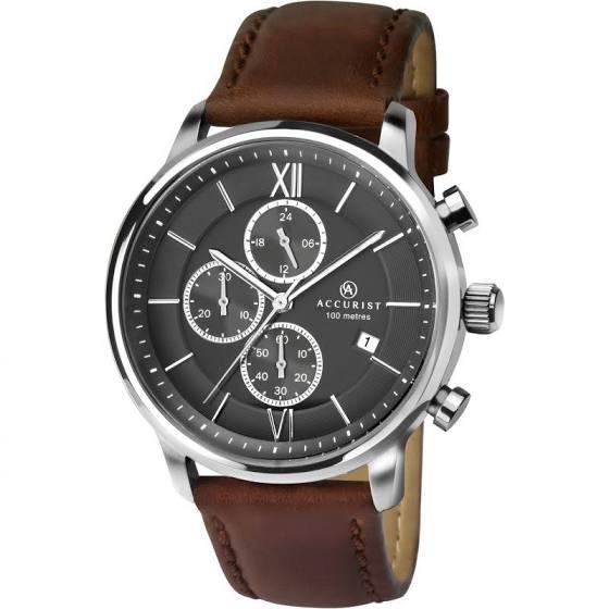 Mens Accurist Chronograph Watch 7154 £55.24 w/code @ Watch Shop