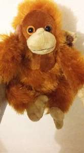 "Iceland ""Rang Tan"" Plush Toy £5 with profits going to charity - there is also a £30 huge version !"