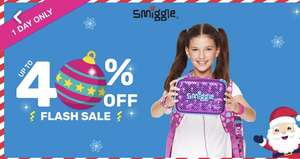 Smiggle 1 day upto 40% off sale on Christmas gifts