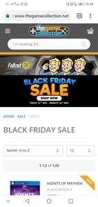 Game collection black friday sale is here