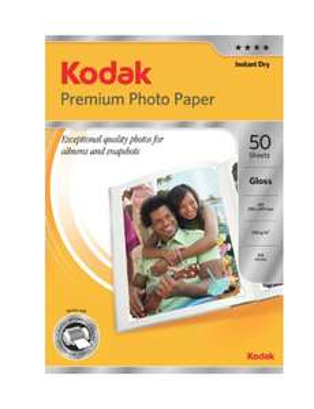 Kodak A4 240 gsm Premium Photo 50 Sheets - £6.29 prime / £10.78 non prime @ Amazon