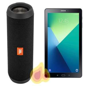 "Samsung Galaxy Tab A 10.1"" 32GB Wifi Tablet  -  includes free JBL Flip3 Bluetooth Speaker now £159 @ AO"