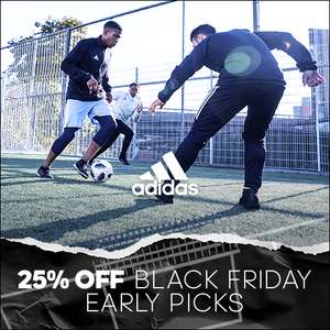 NOW LIVE:: Black Friday Early Picks at adidas - 25% off plus FREE shipping on over 400 products (Examples / Links in OP)