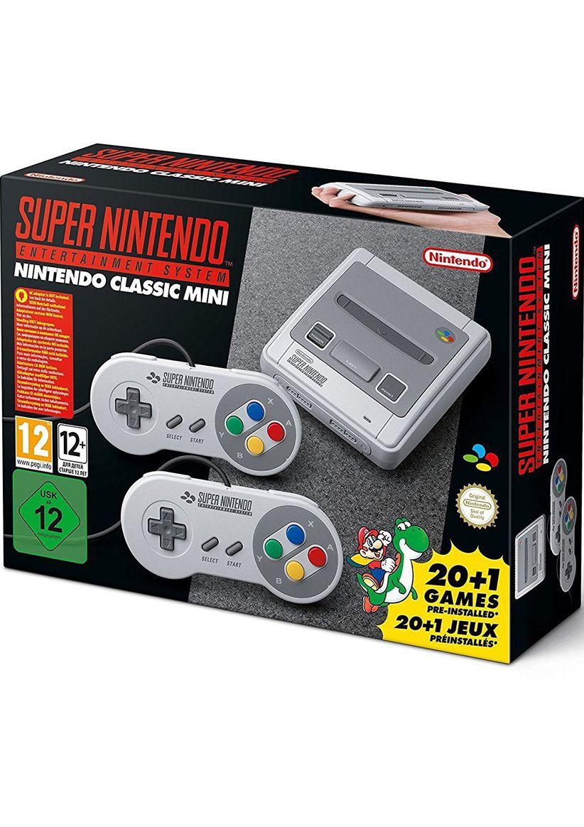 Nintendo Classic Mini Console: Super Nintendo Entertainment System (SNES) £49.85 @ Simply Games