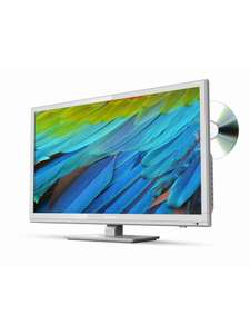 Sharp LC-24DHF4011KW, 24 inch, HD Ready, Freeview HD, TV with DVD Player - White £109 @ Very