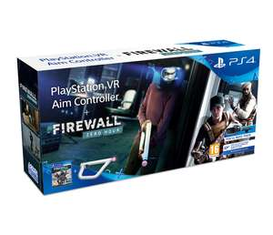 PlayStation VR Aim Controller plus Firewall Zero Hour Bundle £49.85 at ShopTo