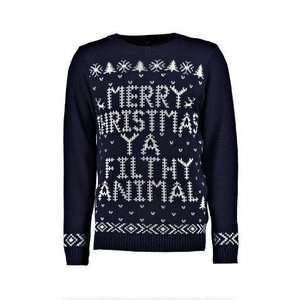 Update 20/11 - 30% off Men's Christmas Jumpers + Free Next Day Delivery W/code @ BoohooMan - prices from £12.60 Delivered