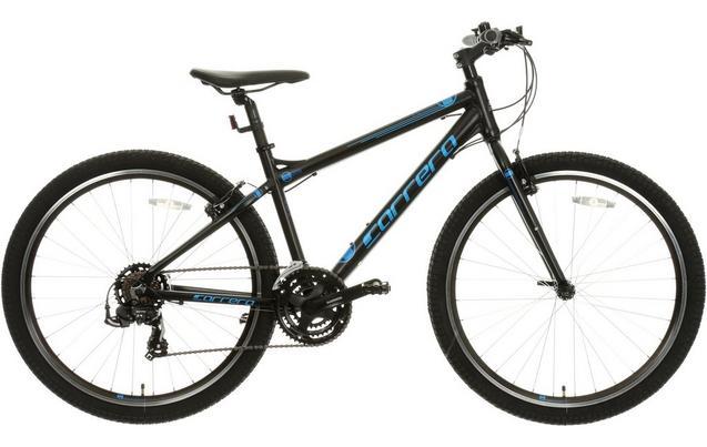 "Carrera Axle Mens Hybrid Bike - Black - 16"", 18"", 20"" Frames, £180 at halfords"
