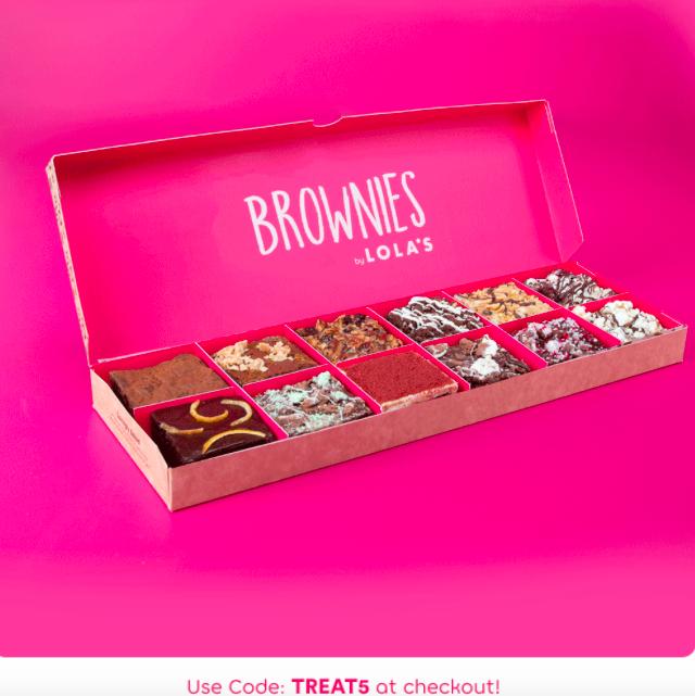 £5 off 12 box of Lola's Brownies @ Lolas cupcakes