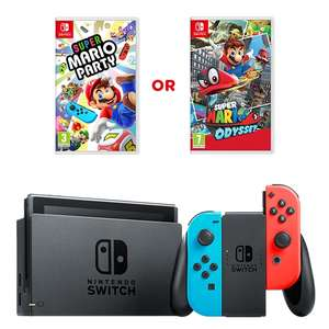 Nintendo Switch Neon Console & One Select Game £289.99 @ Smyths