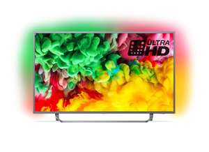 Philips 65PUS6753/12 65-Inch 4K Ultra HD Smart TV with HDR Plus, Freeview Play and Ambilight 3-sided - (2018 Model) £675 @ Amazon