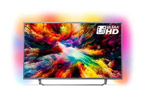Philips 65PUS7303/12 65-Inch 4K Ultra HD Android Smart TV with HDR Plus and Ambilight 3-sided - Dark Silver (2018 Model) £789 @ Amazon
