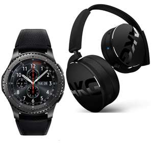 Samsung Gear S3 Frontier + Free AKG Y50 Headphones at Very for £197.99