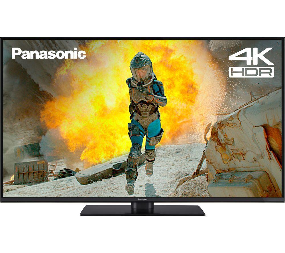 "PANASONIC TX-49FX555B 49"" Smart 4K Ultra HD HDR LED TV £399 / PANASONIC TX-55FX555B 55"" Smart 4K Ultra HD HDR LED TV £499 @ Currys"
