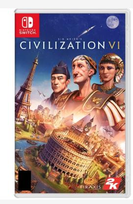 Civilization VI Nintendo Switch £33.29 with code @ 365games
