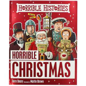 Horrible Histories - Horrible Christmas £3 @ The Works (free C&C)