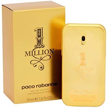 Paco Rabanne 1 Million Eau de Toilette for Men - 50 ml @ Amazon and Superdrug £33.50