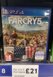Farcry 5, PS4 / Xbox instore at Tesco for £21