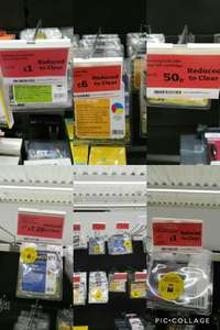 Remanufactured ink cartridge for printer 50p @ Sainsbury's