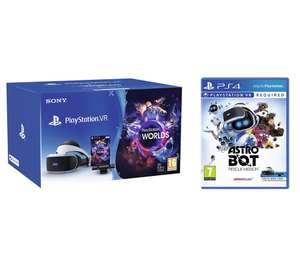 Psvr with camera and astro bot for 169 , extra 40 and also get pair of move controllers £169.99 @ Currys
