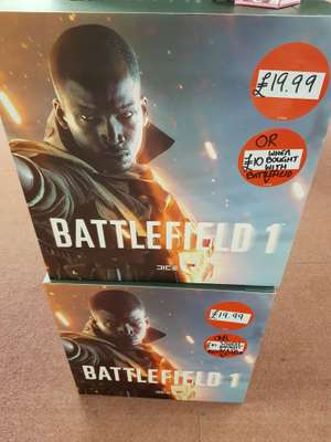 Battlefield 1 Collector's Edition (Statue + Steelbook etc) NEW (Game - Instore Huddersfield) £10 when bought with Battlefield V £19.99