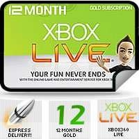 Still available with Brazil region - Xbox LIVE 12 Month Gold Code £28.99 @ cjs-cdkeys