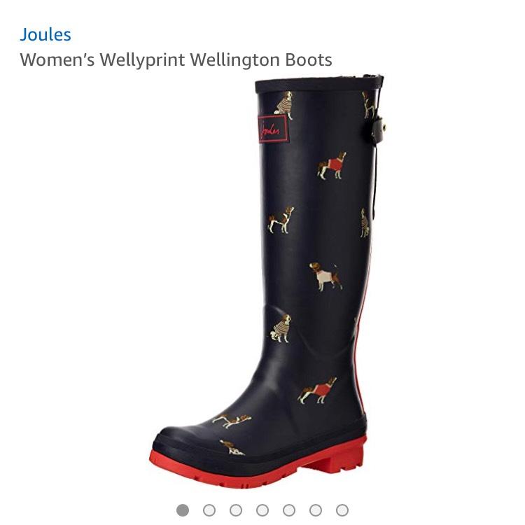 Joules women's wellington boots - £27.99 @ Amazon