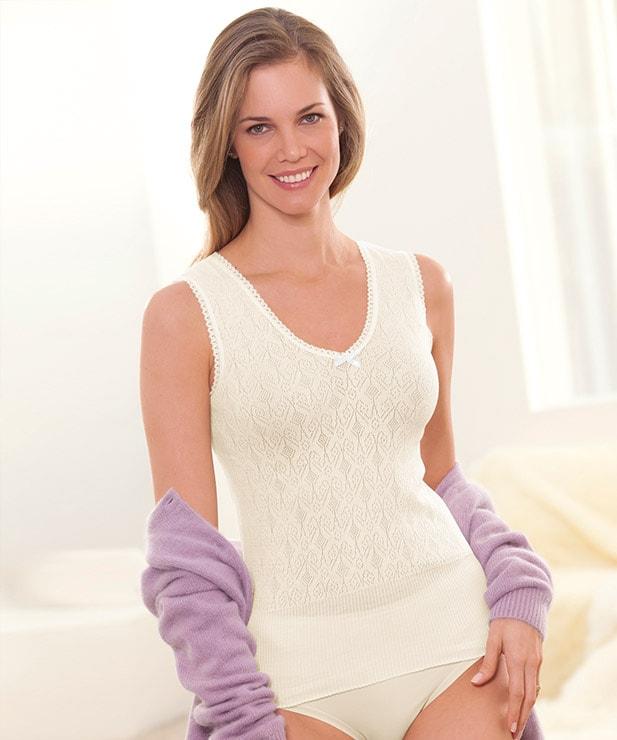 Sleeveless Vest for £7.99 Delivered w/c @ Damart