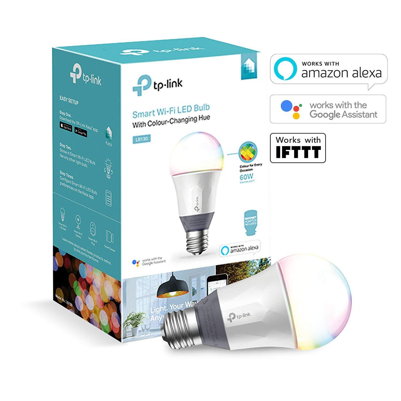 TP-Link Smart WiFi Light Bulb, E27, 11W, Colour-Changeable, Dimmable £28.49 @ Amazon