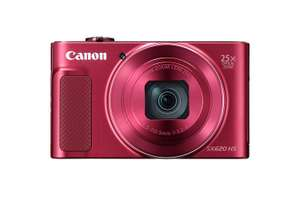 Canon PowerShot SX620 HS Digital Camera - Red/Black/White £149 @ Amazon