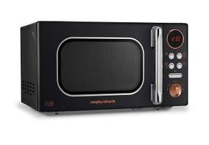 Morphy Richards 511503 Microwave, Rose Gold / Black or White @Amazon