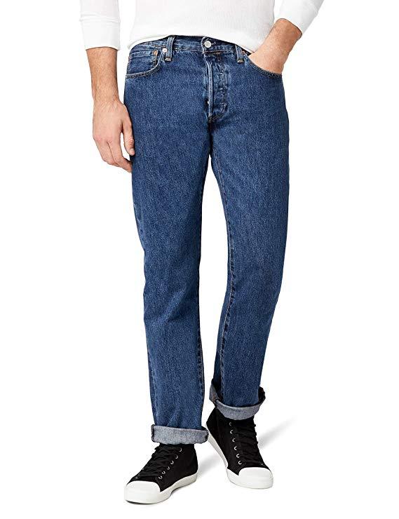 Levi's Men's 501 Original Fit Jeans Pack of 3 £45.50 @ Amazon