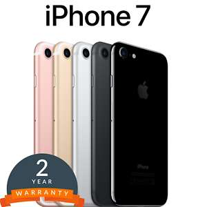 Refurbished Apple iPhone 7 Smartphone 32/128/256GB in Black/Gold/Silver/Rose/Jet Unlocked at ebay/smart-tradesman for £229.90