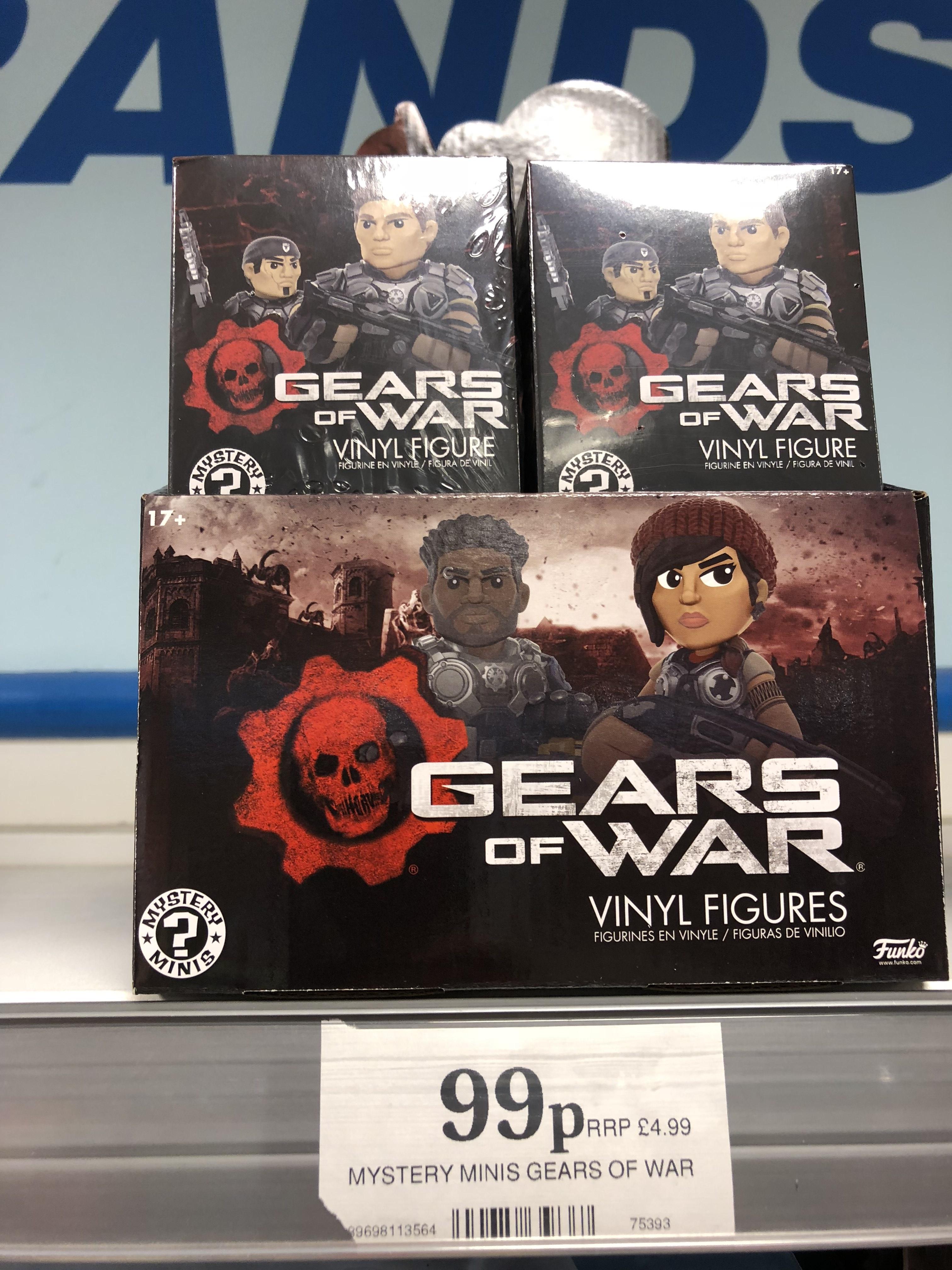 Funko Gears of war mystery mini - 99p @ Home Bargains