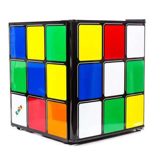 rubiks cube mini fridge by husky at amazon for. Black Bedroom Furniture Sets. Home Design Ideas