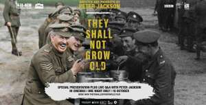 They Shall Not Grow Old on BBC iplayer until tonight at 11:05pm only