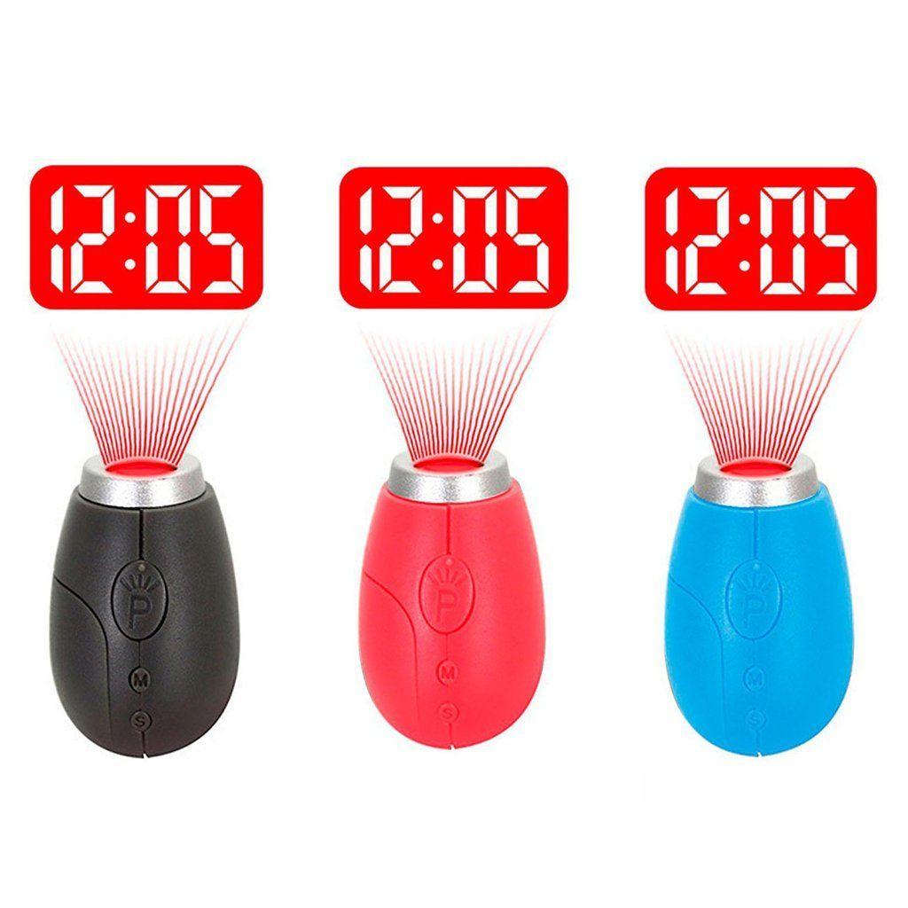 Keyring clock for Kid's/Adults Pocket Digital Clock for Ceiling Projection Indoor Outdoor@ Banggood - £1.58