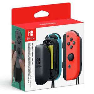 Nintendo Joy-Con AA Battery Pack Console Accessory Pair For Nintendo Switch- £15 delivered @ Tesco eBay