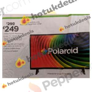 "Polaroid 50"" Smart TV £249 @ Asda In-store"