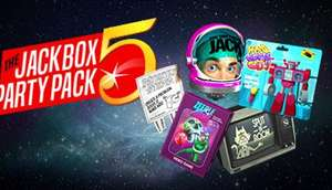 THE JACKBOX PARTY PACK 5 Steam Key £16.05 (£17.84 If Not HumbleMonthly Member) @ HumbleBundle