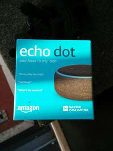 Echo dot (3rd Gen) £30 at Sainsbury's. Effectively £15 using double up nectar points.