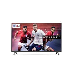 LG 49SK8000PLB 49-Inch Super UHD 4K HDR Premium Smart LED TV with Freeview Play - Brilliant Titan (2018 Model) - £569 @ Amazon