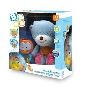 Bobbee Snuggle Bear Infant Baby Child Musical Soft Toy Rattle Night Light New @ Ebay delivered free £13.99
