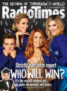 Radio Times 10 issues Inc Christmas Issue for £1 (Set to: North West, Yorkshire, North East)