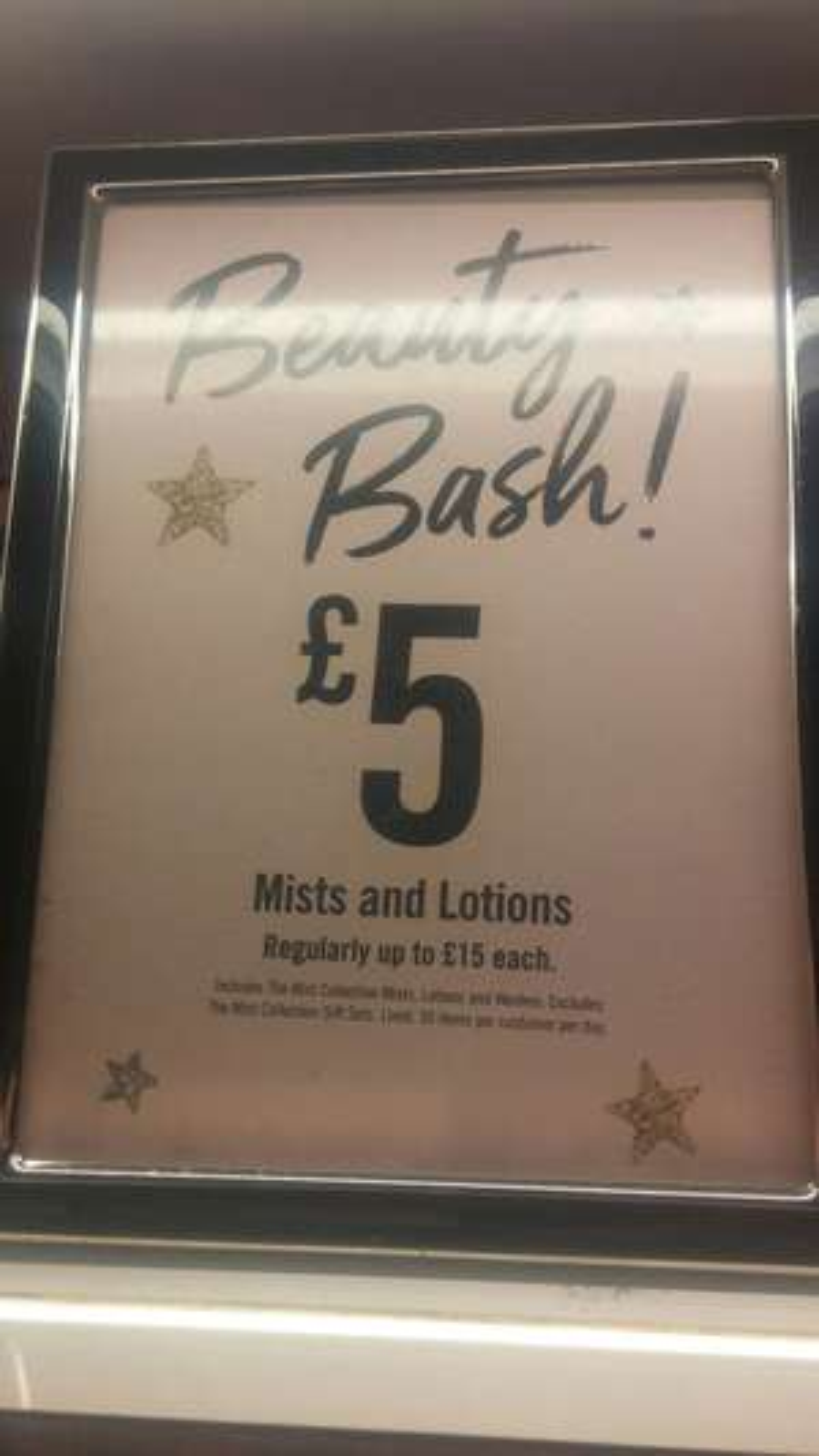 Victorias secret sprays ,body lotion & make up all reduced to £5