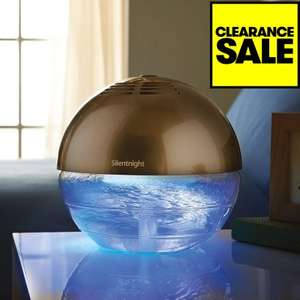 Silent Night Air Purifier Colour Changing £15.49 @ JTF + £4.99 delivery