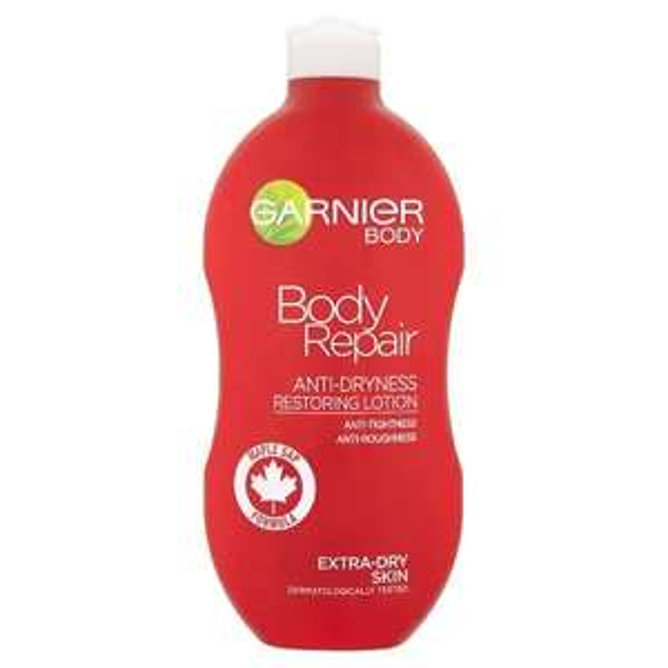 Garnier Body Repair Body Lotion Dry Skin 400ml £2.69 @ Superdrug.